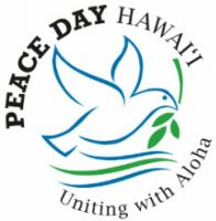Peace Day Hawaii - Uniting with Aloha (dove and branch)